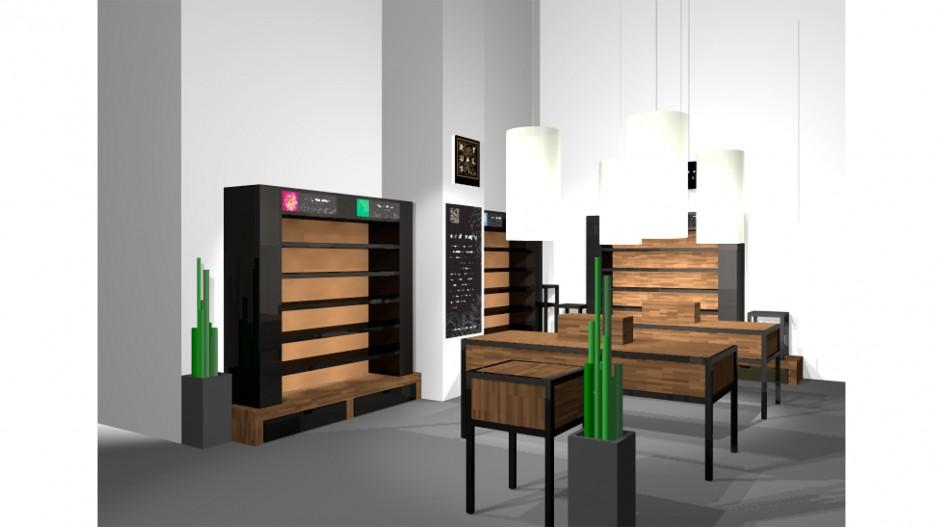 Rituals - shop-in-shop Bijenkorf meubels
