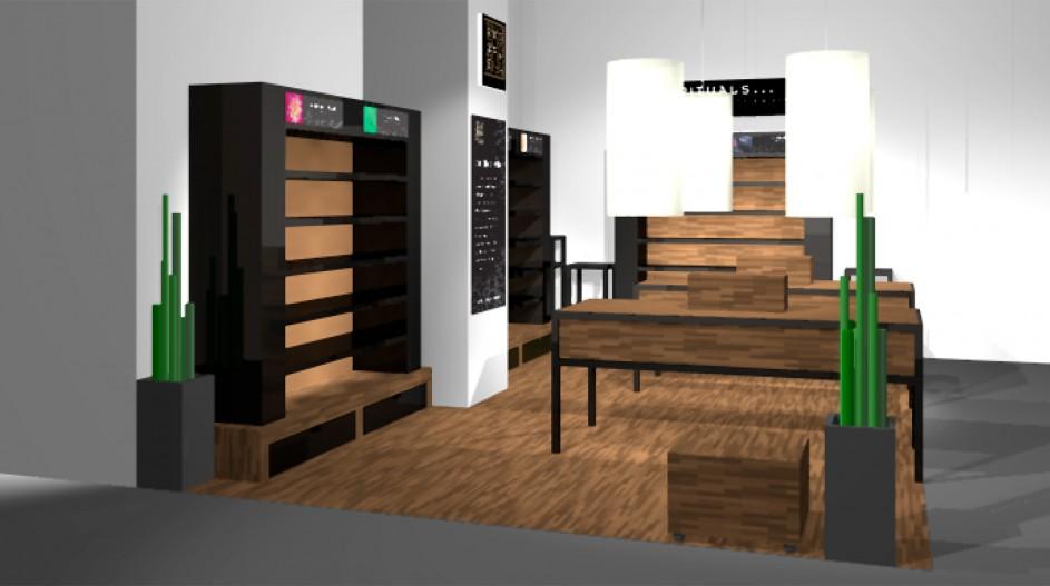 Rituals 3D - Bijenkorf shop-in-shop