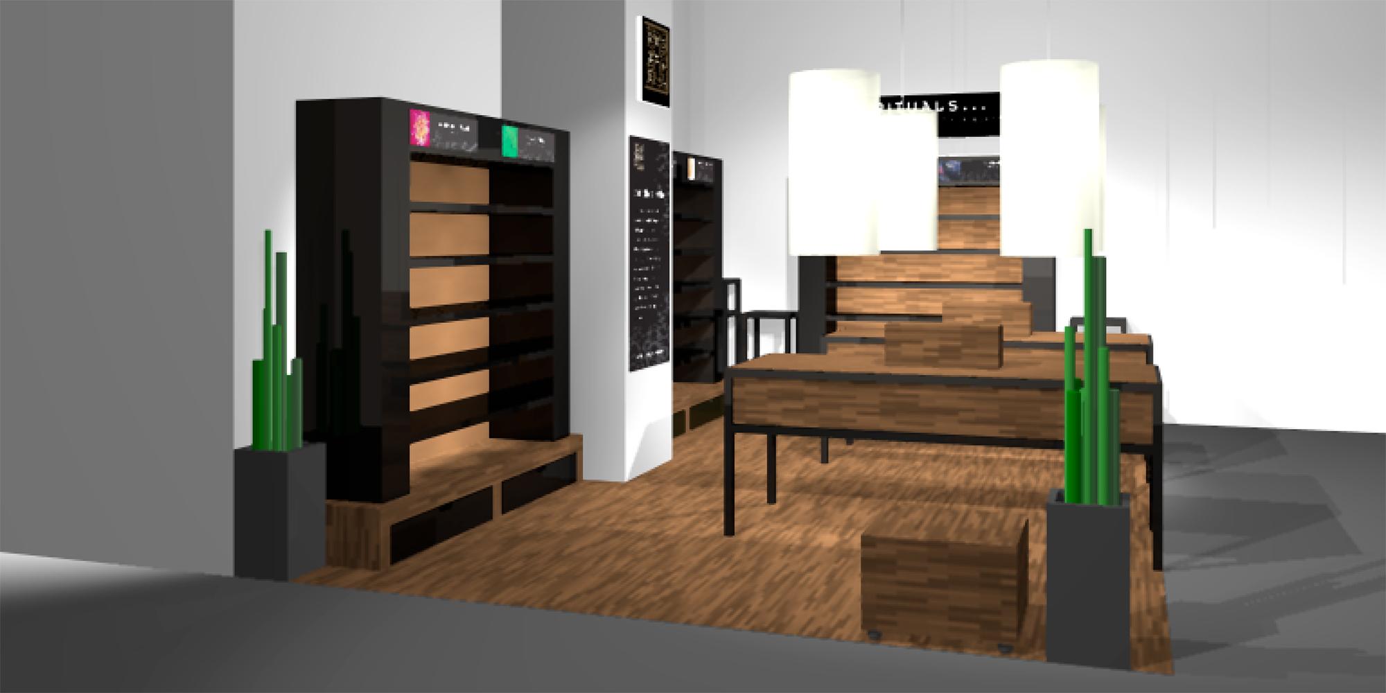Shop in shop meubels rituals studio ei - Meubels studio ...
