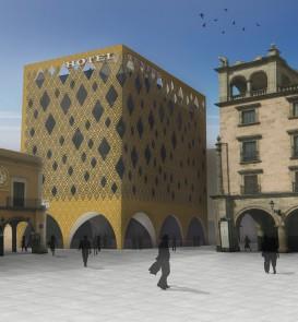 gebouw_definitief HOTEL Centro Mexico -
